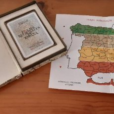 Baralhos de cartas: BARAJA FRANCESA FOURNIER TRAJES REGIONALES DE ESPAÑA. DIBUJOS DE PERELLÓN. 1968.. Lote 223629610