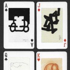 Barajas de cartas: BARAJA MUSEO CHILLIDA LEKU. Lote 223632918