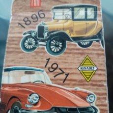 Jeux de cartes: BARALA DE EL JUEGO DE LOS COCHES. Lote 223686841