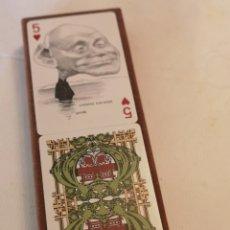 Jeux de cartes: NAIPES AMERICANOS FOURNIER 1973. PERSONAJES HISTÓRICOS. DIBUJADOS POR ORTUÑO. PRODUCIDO POR E. SIÓ. Lote 223709806