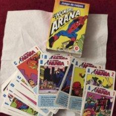 Barajas de cartas: EL HOMBRE ARAÑA SPIDERMAN BARAJA CROMY. Lote 223741282