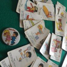 Barajas de cartas: BARAJA DE CARTAS SPORT BILLY Y CHAPA DE LOS AÑOS 80. Lote 223818960