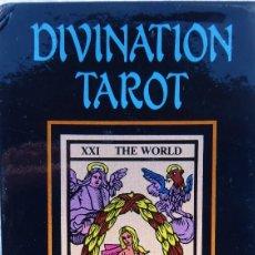 Barajas de cartas: BAR-2. DIVINATION TAROT. REPRODUCCIÓN TAROT SIGLO XVIII. 78 CARTAS. NUEVAS. POR ESTRENAR.. Lote 223870756