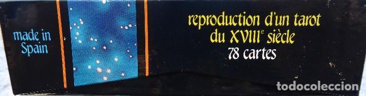 Barajas de cartas: BAR-2. DIVINATION TAROT. REPRODUCCIÓN TAROT SIGLO XVIII. 78 CARTAS. NUEVAS. POR ESTRENAR. - Foto 6 - 223870756