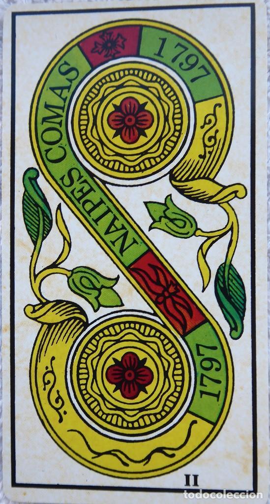 Barajas de cartas: BAR-2. DIVINATION TAROT. REPRODUCCIÓN TAROT SIGLO XVIII. 78 CARTAS. NUEVAS. POR ESTRENAR. - Foto 13 - 223870756