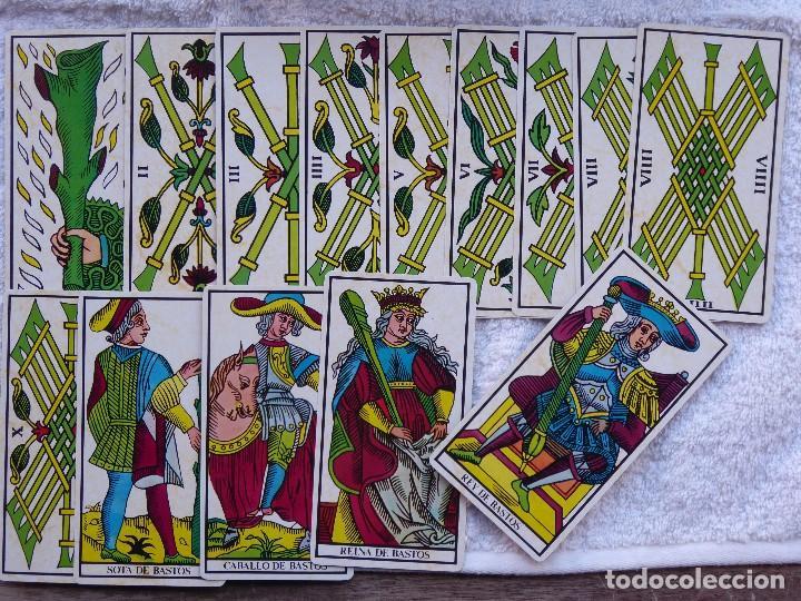 Barajas de cartas: BAR-2. DIVINATION TAROT. REPRODUCCIÓN TAROT SIGLO XVIII. 78 CARTAS. NUEVAS. POR ESTRENAR. - Foto 18 - 223870756