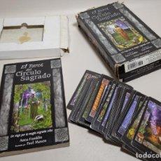 Mazzi di carte: ESTUCHE TAROT DEL CIRCULO SAGRADO. DESCATALOGADO.EDAF 1998. Lote 224351848