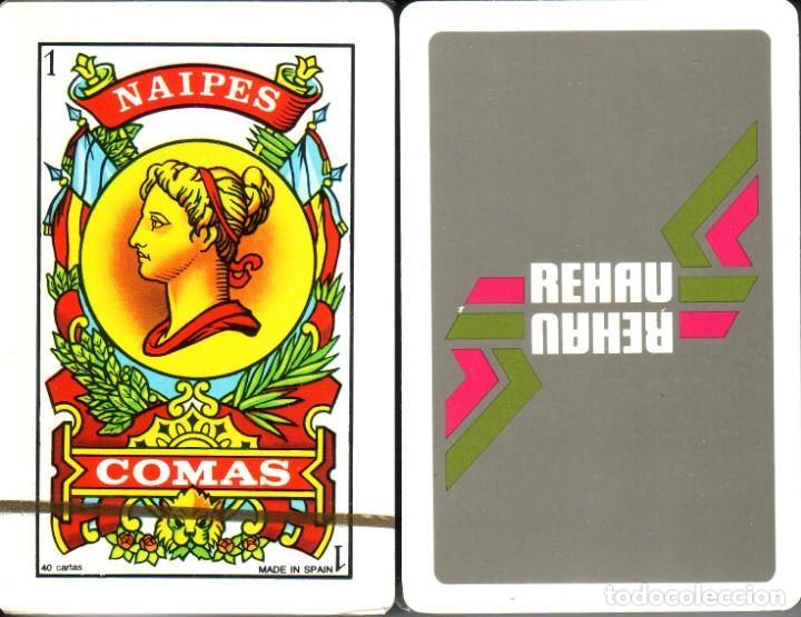 REHAU - BARAJA ESPAÑOLA 40 CARTAS (Juguetes y Juegos - Cartas y Naipes - Baraja Española)