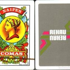 Barajas de cartas: REHAU - BARAJA ESPAÑOLA 40 CARTAS. Lote 224796613