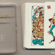 Jeux de cartes: BARAJA MINGOTE. HERACLIO FOURNIER 1967. PUBLICIDAD DE SIKA. ABASTECEDORA CATALANA EN CAJA FOURNIER. Lote 224885748
