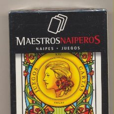 Jeux de cartes: BARAJA ESPAÑOLA. AZAHAR N.º 117. MAESTROS NAIPEROS. ESTUCHE PRECINTADO. Lote 224885880