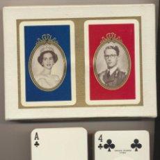 Baralhos de cartas: BARAJA BODA BALDUINO Y FABIOLA. HERACLIO FOURNIER. UNA DE LAS DOS BARAJAS PRECITADA. Lote 224885882