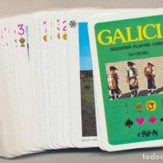 Jeux de cartes: BARAJA DE PÓKER GALICIA. 54 CARTAS. NAIPES COMAS. Lote 224885902