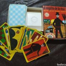 Mazzi di carte: JUEGO DE CARTAS EL NEGRITO DE LA RISA. EDUCA 1967. OTTO MAIER VERLAG, RAVENSBURGER. REF. 16.502.. Lote 225015188