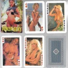 Barajas de cartas: BARAJA EROTICA POKER SEXY. NUEVA. VARITEMAS S. L.. Lote 225022880