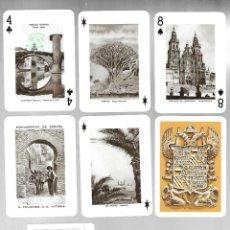 Barajas de cartas: BARAJA PLAYING CARDS, MONUMENTOS DE ESPAÑA. TIMBRE VERDE 1959. SIN ESTRENAR.. Lote 225029150