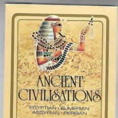 Barajas de cartas: BARAJA ANCIENT CIVILISATIONS, EGYPTIAN, SUMERIAN, ASSYRIAN, PERSIAN. FOURNIER. ESTUCHE PRECINTADO.. Lote 225031115