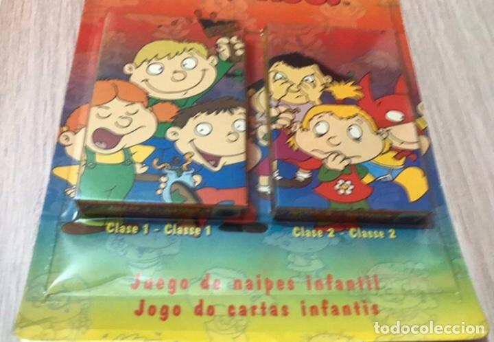 Barajas de cartas: DOS BARAJAS JUEGO DE NAIPES - LOS MINI MOUSTROS DE FOURNIER - Foto 4 - 225168995