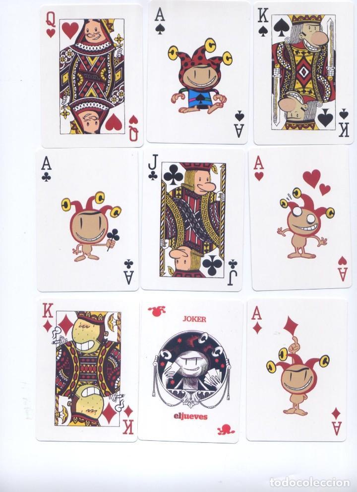 BARAJA POKER REVISTA EL JUEVES (Juguetes y Juegos - Cartas y Naipes - Otras Barajas)