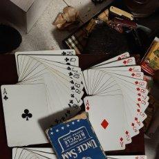 Baralhos de cartas: BARAJA DE CARTAS UNCLE SAM EPOCA SEGUNDA GUERRA MUNDIAL. Lote 225301627