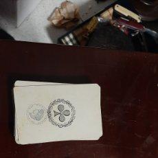 Baralhos de cartas: BARAJAS DE CARTAS FRANCESAS SIGLO XIX INCOMPLETAS. Lote 225302868