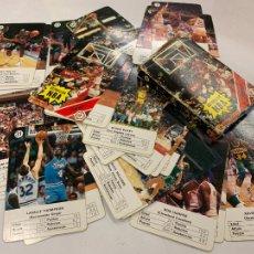 Barajas de cartas: ANTIGUA BARAJA DE CARTAS FOURNIER - BALONCESTO, ESTRELLAS NBA. COMPLETA. NAIPES EN PERFECTO ESTADO. Lote 225322075