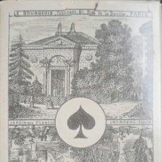 Barajas de cartas: REPLICA BARAJA IMPERIAL - FRANCIA S XVIII (1860) - COLECCION FOURNIER - NUEVA / PRECINTADA !!!*. Lote 236898425