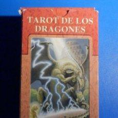 Barajas de cartas: BARAJA - TAROT DE LOS DRAGONES - 78 CARTAS - NAIPES - LO SCARABEO - NUEVA. Lote 225375795