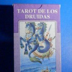 Barajas de cartas: BARAJA - TAROT DE LOS DRUIDAS - 78 CARTAS - NAIPES - LO SCARABEO - NUEVA. Lote 225377200
