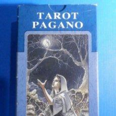 Barajas de cartas: BARAJA - TAROT PAGANO - 78 CARTAS - NAIPES - LO SCARABEO - NUEVA. Lote 225377470