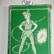 Mazzi di carte: PETER PAN Y LOS PIRATAS, BARAJA DE 44 CARTAS, FOURNIER 1962?, WALT DISNEY. Lote 225380165