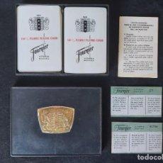 Barajas de cartas: BARAJAS DE POKER FOURNIER 2000 CON CAJA. Lote 225386190