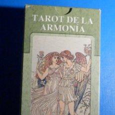 Barajas de cartas: BARAJA - TAROT DE LA ARMONÍA - 78 CARTAS - NAIPES - LO SCARABEO - NUEVA. Lote 225438470