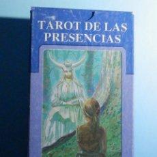 Barajas de cartas: BARAJA - TAROT DE LAS PRESENCIAS - 78 CARTAS - NAIPES - LO SCARABEO - NUEVA. Lote 225438932