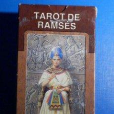 Barajas de cartas: BARAJA - TAROT DE RAMSES - 78 CARTAS - NAIPES - LO SCARABEO - NUEVA. Lote 225439480