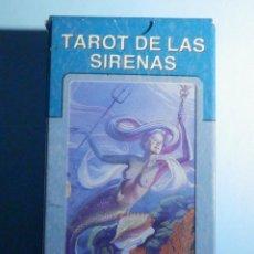 Barajas de cartas: BARAJA - TAROT DE LAS SIRENAS - 78 CARTAS - NAIPES - LO SCARABEO - NUEVA. Lote 225439815