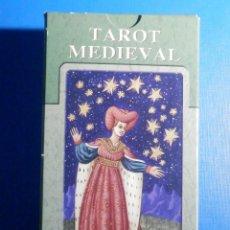 Jeux de cartes: BARAJA - TAROT MEDIEVAL - 78 CARTAS - NAIPES - LO SCARABEO - NUEVA. Lote 225440052