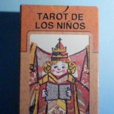 Mazzi di carte: BARAJA - TAROT DE LOS NIÑOS - 78 CARTAS - NAIPES - LO SCARABEO - LELE LUZZATI - NUEVA. Lote 225558312