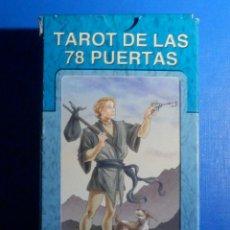 Barajas de cartas: BARAJA - TAROT DE LAS 78 PUERTAS - 78 CARTAS - NAIPES - LO SCARABEO - NUEVA. Lote 225568320
