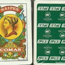 Barajas de cartas: CAUDAL SEGUROS - BARAJA ESPAÑOLA 40 CARTAS. Lote 225585645