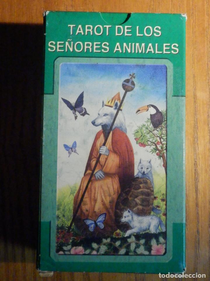 BARAJA - TAROT DE LOS SEÑORES ANIMALES - 78 CARTAS - NAIPES - LO SCARABEO - NUEVA (Juguetes y Juegos - Cartas y Naipes - Barajas Tarot)