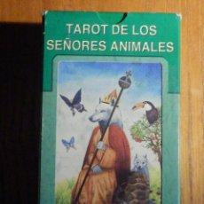 Barajas de cartas: BARAJA - TAROT DE LOS SEÑORES ANIMALES - 78 CARTAS - NAIPES - LO SCARABEO - NUEVA. Lote 225632025
