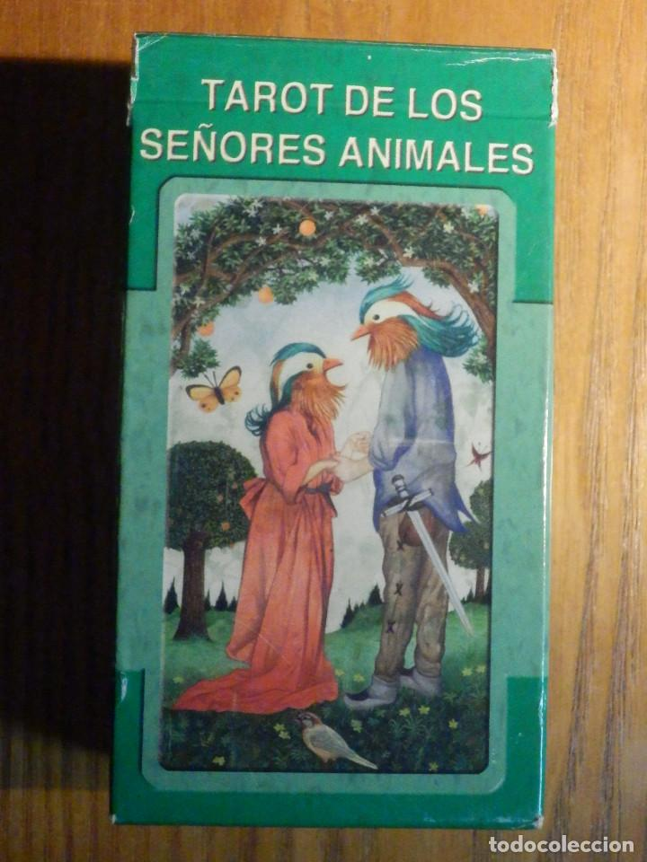 Barajas de cartas: BARAJA - TAROT de los Señores Animales - 78 CARTAS - NAIPES - LO SCARABEO - NUEVA - Foto 2 - 225632025
