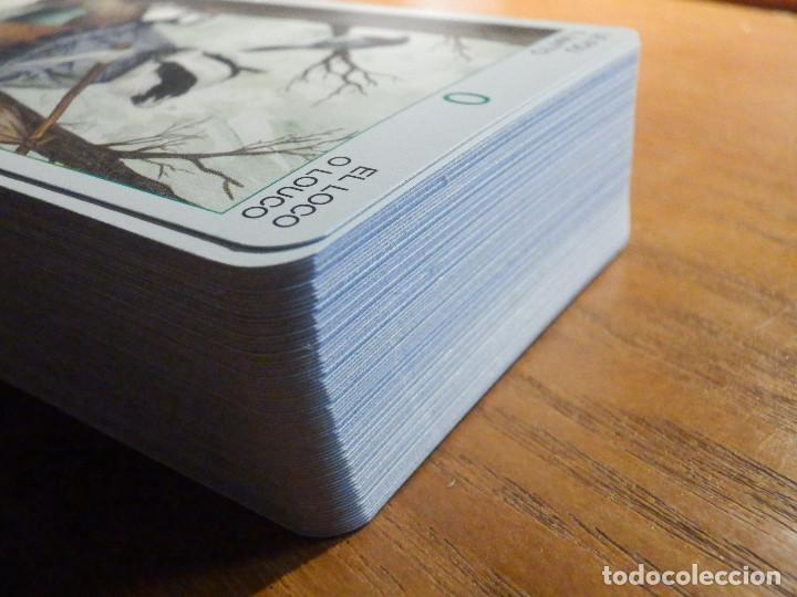 Barajas de cartas: BARAJA - TAROT de los Señores Animales - 78 CARTAS - NAIPES - LO SCARABEO - NUEVA - Foto 4 - 225632025