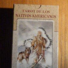 Barajas de cartas: BARAJA - TAROT DE LOS NATIVOS AMERICANOS - 80 CARTAS - NAIPES - LO SCARABEO - NUEVA. Lote 287790858