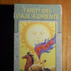 Barajas de cartas: BARAJA - TAROT DEL VIAJE A ORIENTE - 78 CARTAS - NAIPES - LO SCARABEO - NUEVA. Lote 225673695