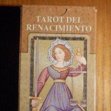 Barajas de cartas: BARAJA - TAROT DEL RENACIMIENTO - 78 CARTAS - NAIPES - LO SCARABEO - NUEVA. Lote 225674015