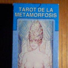 Barajas de cartas: BARAJA - TAROT DE LA METAMORFOSIS - 78 CARTAS - NAIPES - LO SCARABEO - NUEVA. Lote 225674218