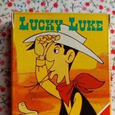 Baralhos de cartas: LUCKY LUKE. BARAJA DE CARTAS INFANTIL, A ESTRENAR. AÑOS 80. Lote 225702420