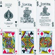 Barajas de cartas: BARAJAS POKER Nº 86 DE BICYCLE Y FOURNIER LOS ESCUDOS. Lote 225722206